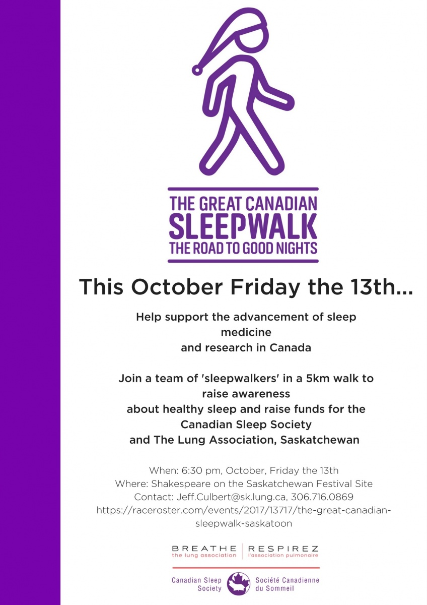 Great Canadian Sleepwalk poster. link to registration site with more information.