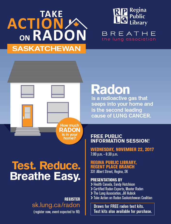 Regina Radon Event | the lung association